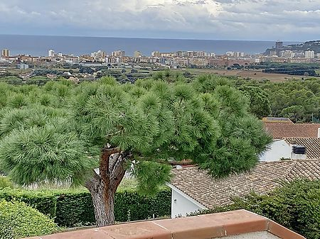 3 bedrooms villa with panoramic sea view in Sant Antoni de Calonge